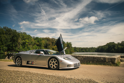 Photo de la semaine - Bugatti EB110