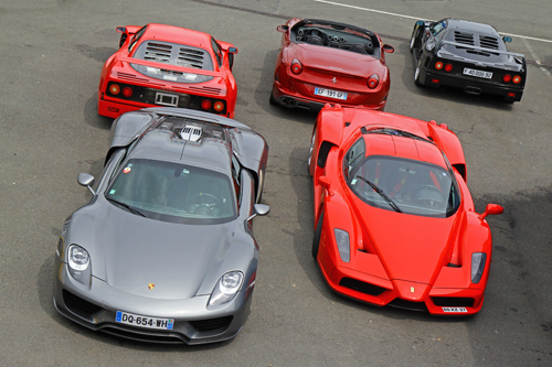 Photo de la semaine - Supercars